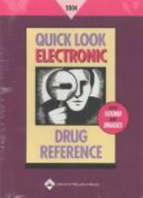 Quick Look Electronic Drug Reference 2004 9780781746663