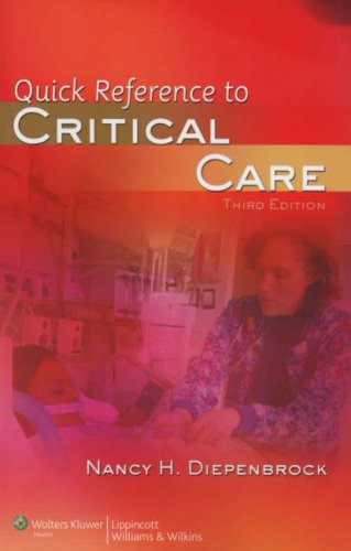 Quick Reference to Critical Care 9780781777148