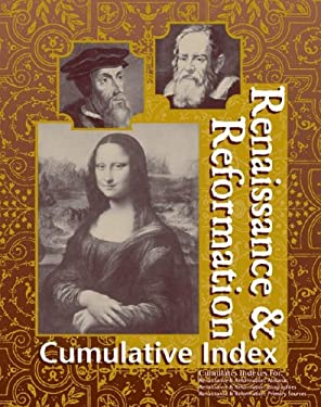 Renaissance and Reformation Reference Library Cum Index 9780787654740