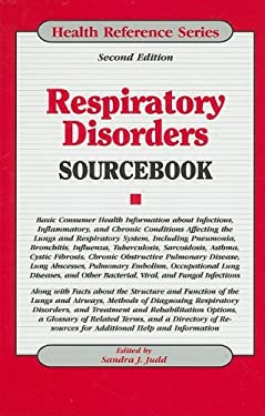 Respiratory Disorders Sourcebook 9780780810075