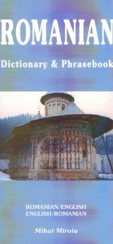 Romanian-English Dictionary & Phrasebook 9780781809214