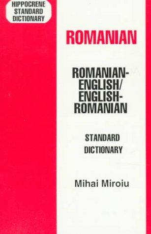 Romanian/English-English/Romanian Standard Dictionary 9780781804448