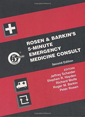 Rosen and Barkin's 5-Minute Emergency Medicine Consult 9780781739177