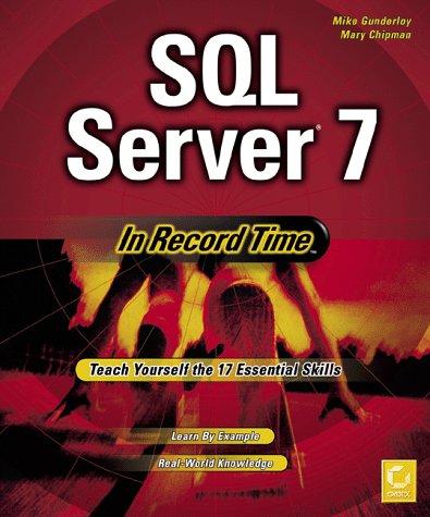 SQL Server 7 in Record Time 9780782121551