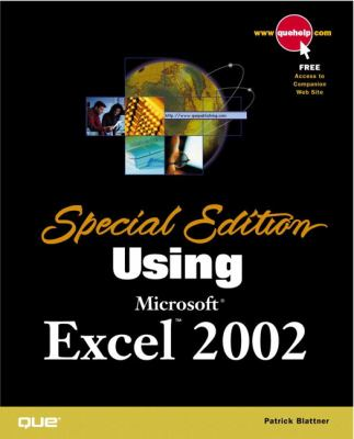 Special Edition Using Microsoft Excel 2002 9780789725110