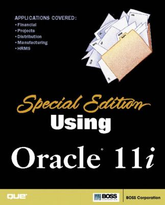 Special Edition Using Oracle 11i 9780789726704