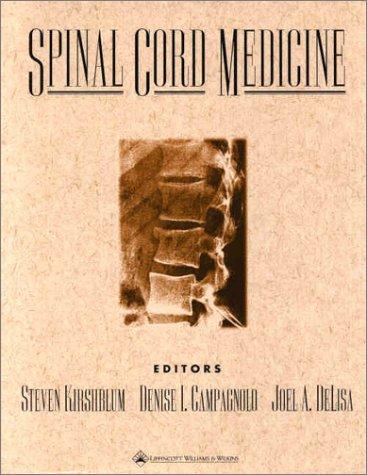 Spinal Cord Medicine 9780781728690