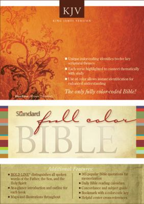 Standard Full Color Bible-KJV 9780784721667
