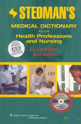 Stedman's Medical Dictionary for the Health Professions and Nursing [With CDROM] 9780781793643