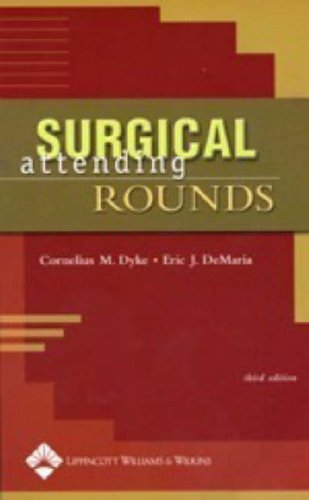 Surgical Attending Rounds 9780781750462