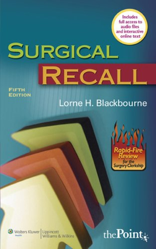 Surgical Recall [With Access Code]