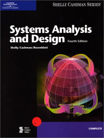 Systems Analysis and Design, Fourth Edition 9780789559579