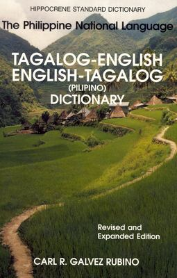 Tagalog/English-English-Tagalog Standard Dictionary 9780781809603