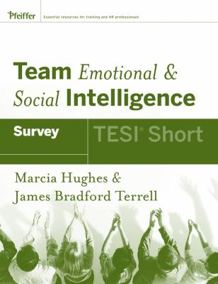 Team Emotional & Social Intelligence Survey: TESI Short 9780787988425