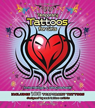 temporary tattoos for girls. Temporary Tattoos for Girls: Includes 100 Temporary Tattoos [With Tattoos]