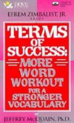 Terms of Success: More Word Workout for a Stronger Vocabulary 9780787110086