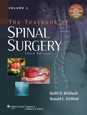 The Textbook of Spinal Surgery 9780781786201