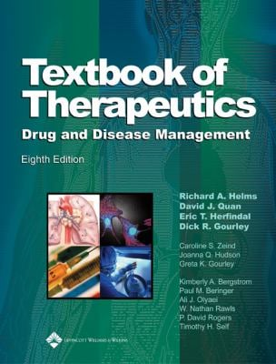 Textbook of Therapeutics: Drug and Disease Management [With Bonus Online Material] 9780781757348