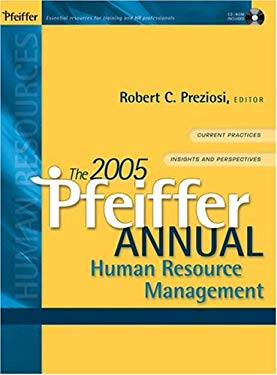 The 2005 Pfeiffer Annual: Human Resource Management [With CDROM] 9780787968908