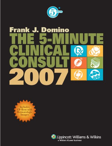 The 5-Minute Clinical Consult, 2007 9780781763349