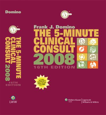 The 5-Minute Clinical Consult [With CDROM] 9780781776080