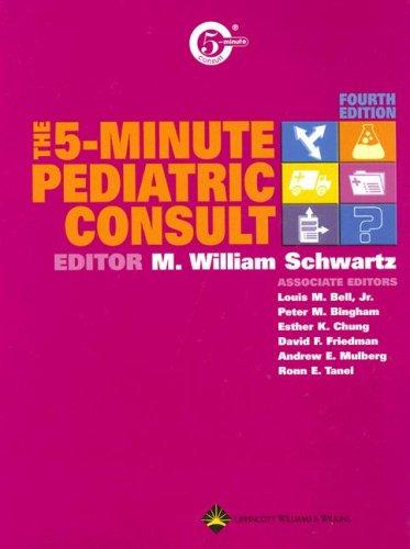 The 5-Minute Pediatric Consult 9780781754521