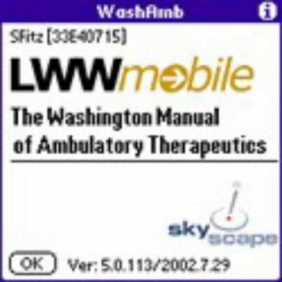 Washington Manual of Ambulatory Therapeutics for PDA 9780781738668