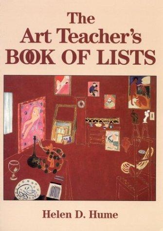 The Art Teacher's Book of Lists 9780787974244