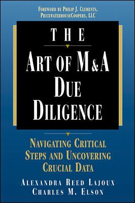 The Art of M&A Due Diligence 9780786311507