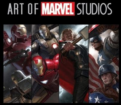 Art of Marvel Studios [With Limited Edition Avengers Movie Poster]