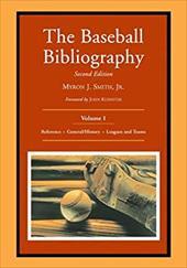 The Baseball Bibliography: Volume 1