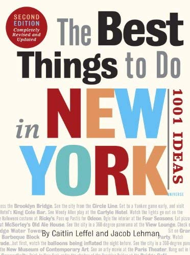 The Best Things to Do in New York 9780789320261