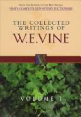 The Collected Writings of W.E. Vine: Boxed Five Volume Set 9780785211594
