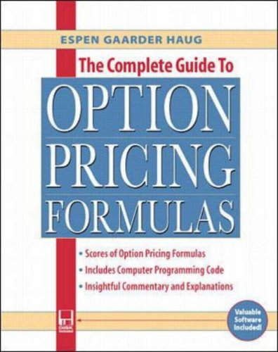 The Complete Guide to Option Pricing Formulas [With Disk] 9780786312405
