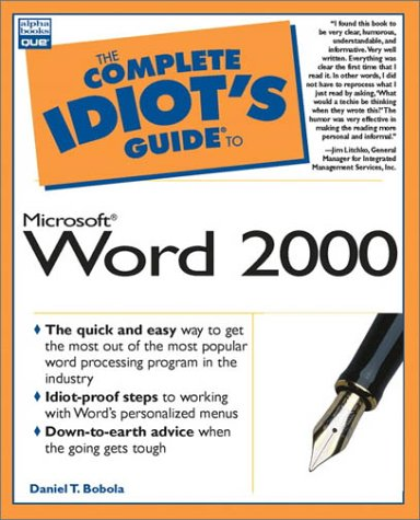 The Complete Idiot's Guide to Microsoft Word 2000: 6 9780789718600