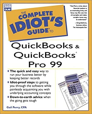 The Complete Idiot's Guide to QuickBooks and QuickBooks Pro Version 6 and 7 9780789719669