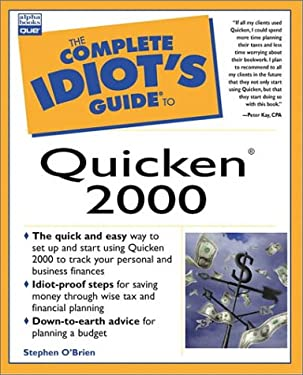 The Complete Idiot's Guide to Quicken 2000 9780789722188