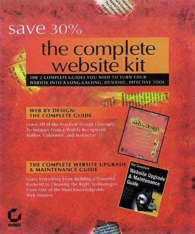 The Complete Website Kit Set [With *] 9780782124286