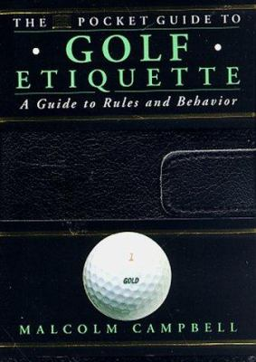The DK Pocket Guide to Golf Etiquette 9780789414670