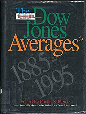 The Dow Jones Averages, 1885-1995 9780786309740