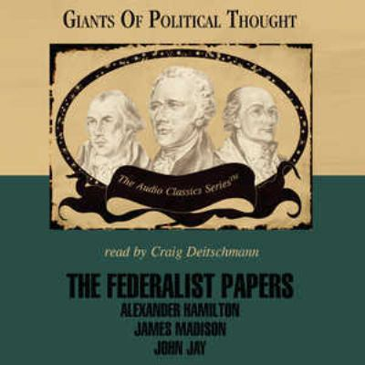The Federalist Papers 9780786173259