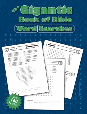 The Gigantic Book of Bible Word Searches 9780784735510