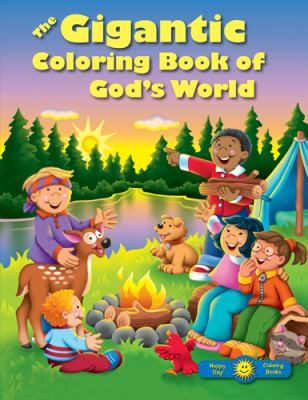 The Gigantic Coloring Book of God's World 9780784729298