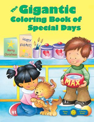 The Gigantic Coloring Book of Special Days 9780784729281