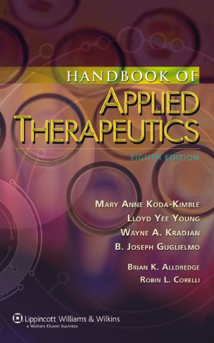 The Handbook of Applied Therapeutics: Diagnosis and Therapy 9780781790260