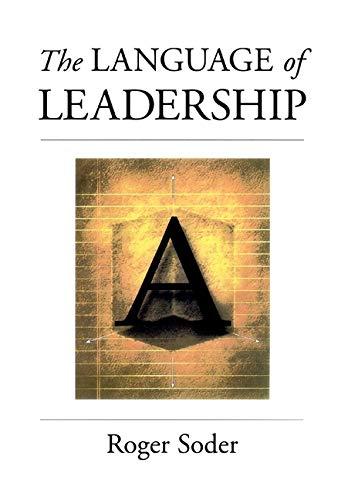 The Language of Leadership 9780787943608