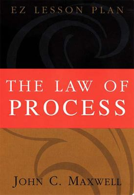 The Law of Process [With 1 Cassette and 1 Facilitator's Guide] 9780785296713
