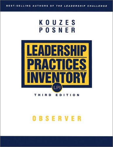 The Leadership Practices Inventory (LPI): Observer 9780787967277