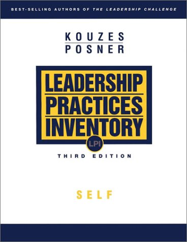 The Leadership Practices Inventory (LPI): Self Instrument 9780787967956
