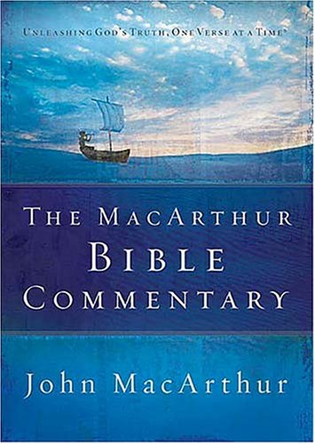 The MacArthur Bible Commentary 9780785250661